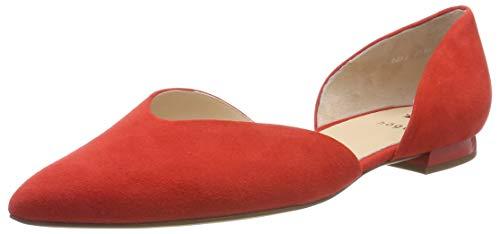 HÖGL Damen Tenderly Geschlossene Ballerinas, Rot (Scarlet 43, 39 EU