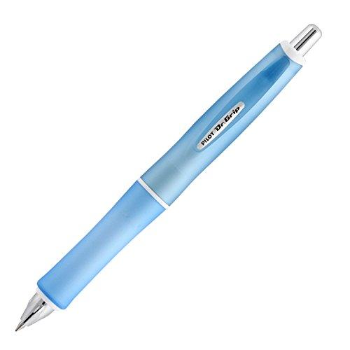 Pilot Dr. Grip G-Spec Frost Color Ballpoint Pen - 0.7 mm, Frost Soft Blue/Black (BDGS-60R-RSL)