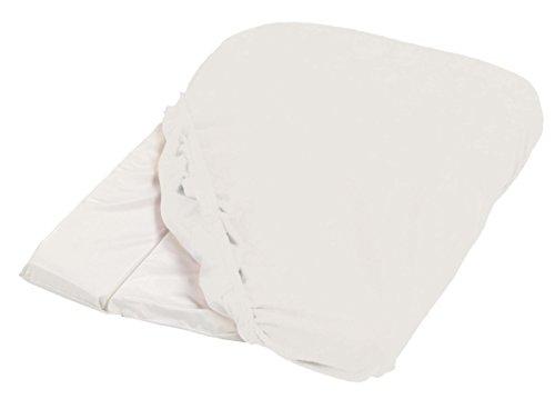 Candide 153570.0 Frotteebezug für Wickelauflage, weiß, 50 X 75 CM
