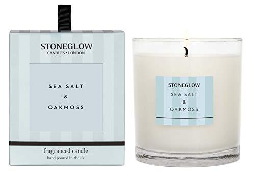 Stoneglow Sea Salt and Oakmoss Tumbler Candle - NEW 2019
