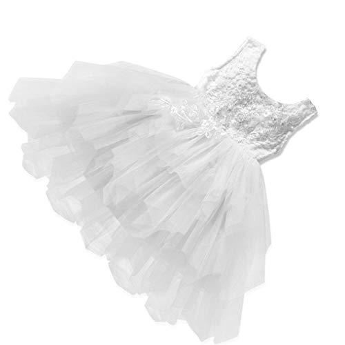 Floridivy Baby Girl mouwloze Bubble Rok Peuters Backless feestjurk, de Partij van de baby Costume Kids Princess Dress