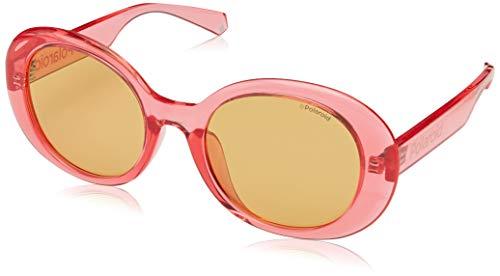 Polaroid - Gafas de sol para mujer, modelo 6054/F/S Pink/Bw Brown Talla única