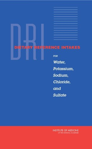 Dri, Dietary Reference Intakes for Water, Potassium, Sodium, Chloride, and Sulfate