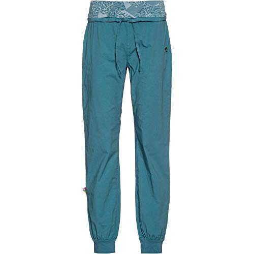E9 Damen HIT Kletterhose blau XL