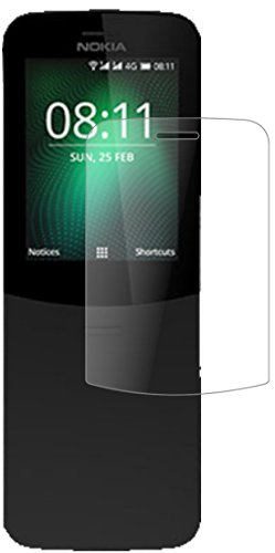 dipos I 2X Panzerfolie matt kompatibel mit Nokia 8110 4G Schutzfolie 9H Bildschirmschutz-Folie