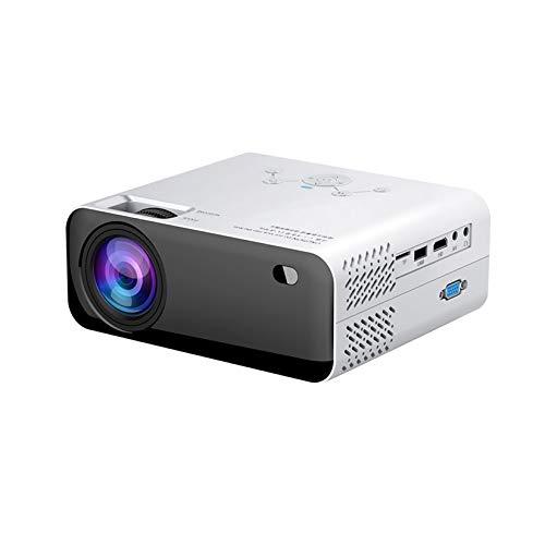 LORIEL Proyector LED, Soporte De 1920 * 1080 Resolución Full HD, Puede Proyectar Pantalla De 36'~ 150', Conectando HDMI/TF/USB, para Teléfonos Inteligentes, Inalámbricos O USB