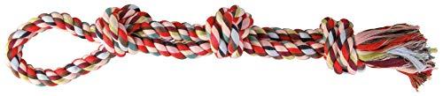 Trixie Cuerda de Juego, Algodón, Multicol,Dobl,500g,60cm 🔥