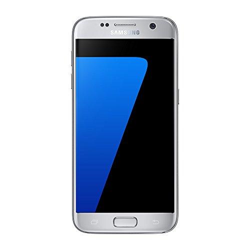 Samsung Galaxy S7 Smartphone da 200 GB, Argento [Versione Francese]