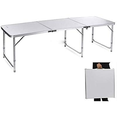 Teeker Aluminum Alloy Folding Table,Portable Fo...