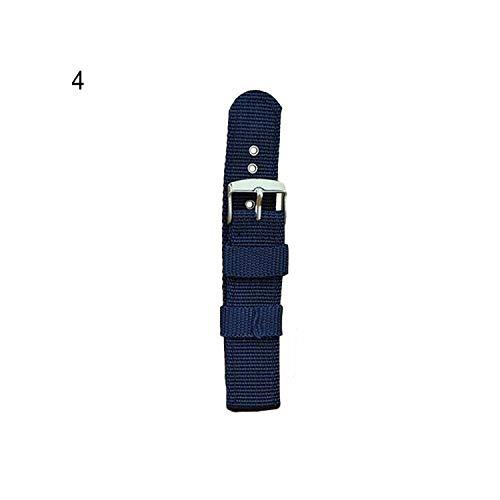 Guarda Cinturino nylon impermeabile da polso della cinghia del cinturino di ricambio, Blu marino 22 millimetri