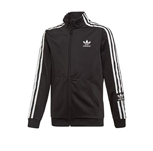 Adidas Lock Up - Chaqueta deportiva para niño blanco/negro 140 cm