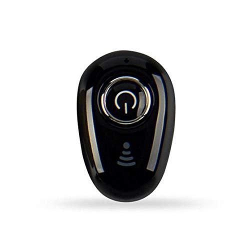 Mini Auriculares inalámbricos en la Oreja Auriculares estéreo V4.1 Auriculares Auriculares para teléfonos Inteligentes Dispositivo S650; Negro Candybush