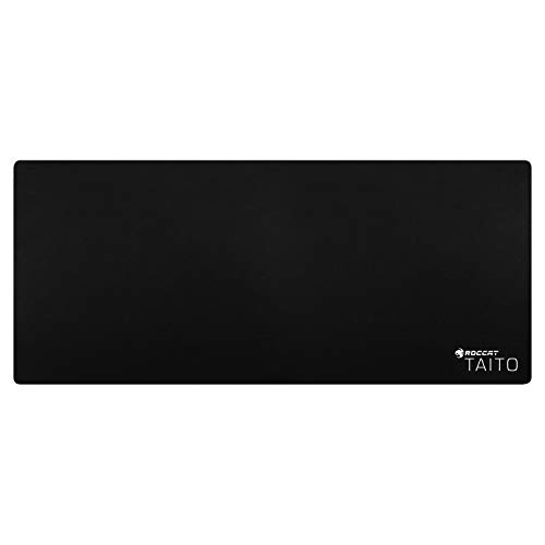 ROCCAT TAITO 2017 - Shiny Black Gaming Mouse Pad, XXL Wide-Size 3mm
