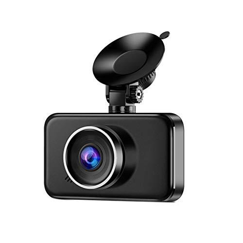 Viudecce Grabador de ConduccióN de AutomóViles 1080P DVR con CáMara Dual Delantera y Trasera para Coche LCD de 3 Pulgadas M90