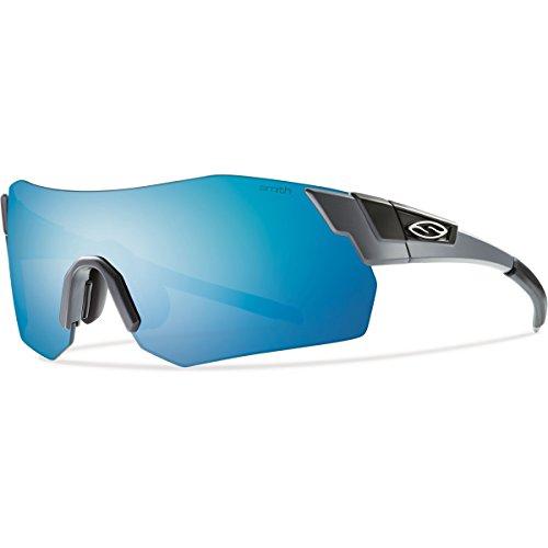 Smith Optics Pivlock Arena Max Sunglass, Matte Cement/Blue Sol-X, Ignitor, Carbonic TLT Lenses