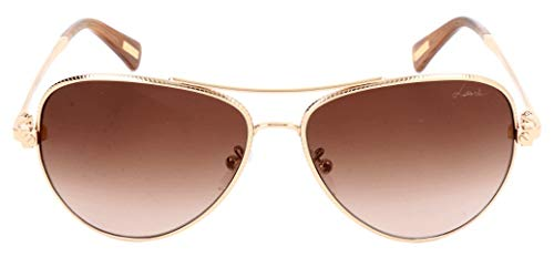 Lavin Lanvin Sonnenbrille SLN068 0300 58 14 135 Gafas de sol, Dorado (Gold), 58.0 para Mujer