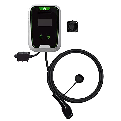 EV Charger Electric Vehicle & Car Wall Box Charging 32A/7KW | Type 2 | 5m...