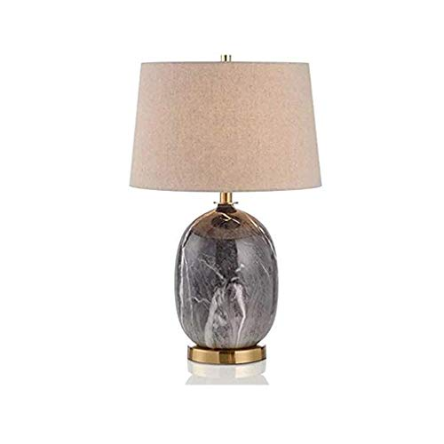 WYBFZTT-188 La imitación de mármol Moderna cerámica de lámpara de Mesa de Noche Dormitorio lámpara de Lectura Estudio de la lámpara decoración del Hotel lámpara de Mesa