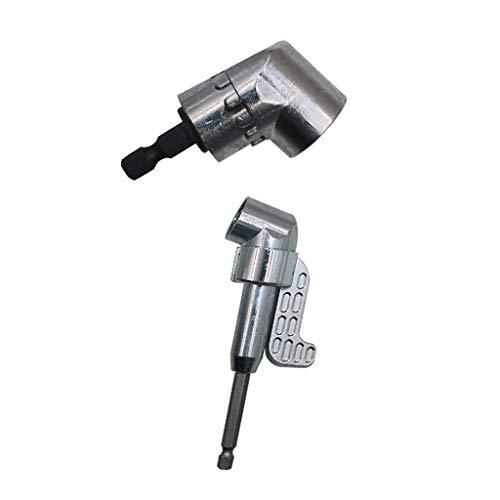 #N/A - Juego de 2 brocas de 105 grados para taladro y destornillador adaptador de soporte de casquillo