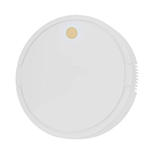 ZZXXB Intelligente Roboter-Staubsauger, USB-Ladehaushalt Smart/Tech/Silent/Leistungsstarke Reinigung Staub Haar Reinigung Staubsauger, Weiss Judith (Color : White)