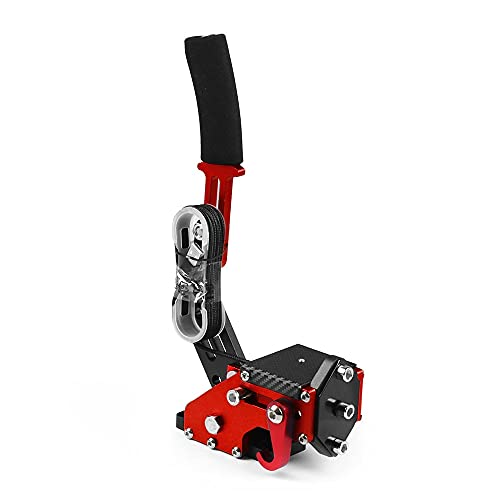 Freno De Mano 14bit PC USB Handbrake para juegos de carreras G27/G29 T500 Freno De Mano Usb (Color : Red)
