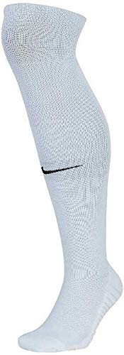 Nike Squad OTC Fußballstutzen, White/Pure Platinum/Black, M