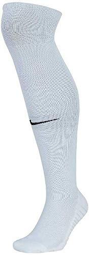 Nike Squad OTC Fußballstutzen, White/Pure Platinum/Black, L