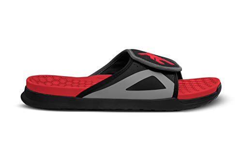 Ride Concepts Sandalia Coaster para hombre, rojo (Negro/Rojo), 41 EU