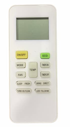 Upix® AC Remote No. 142, Compatible with Reconnect AC Remote Control - Old Remote Functions Must be Exactly Same