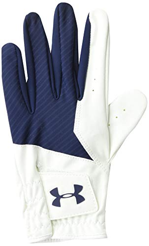 UA Under Armour Mens Left Hand Medal Golf Glove (Navy, M/L)
