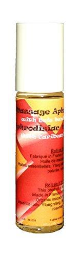 Aphrodisiaque pour massages érotiques et sensuels - Huiles essentielles et bois bandé - Roll on 10ml
