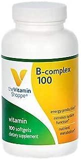 Best vitamin shoppe b complex 100 Reviews