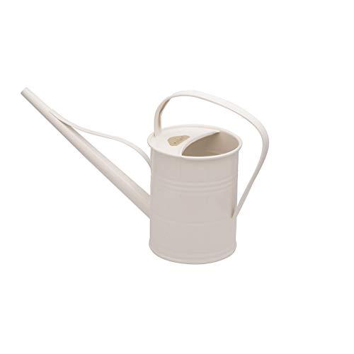 Plint Gießkanne Wasserkanne Watering Can Metall Winter White 1,5 Liter Retrokanne Kanne