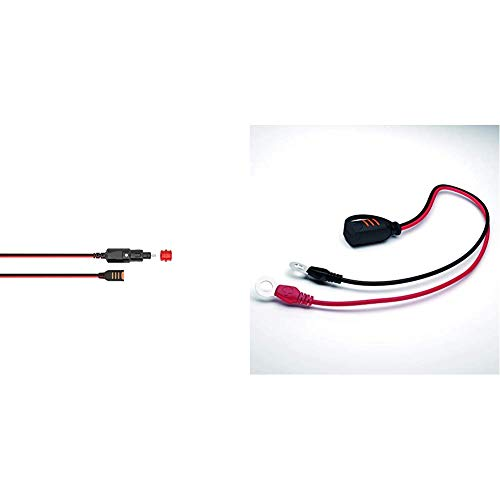 CTEK 56263 Zigarettenanzünder-Kabel & Comfort Connect Direct Connect Adapter (M8 Muttern), Ideal Für Schwer Erreichbare Batterien, 40cm Kabellänge