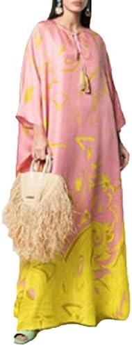 Dashiki Dress Print Bohemia Silk Scarf Hijab Loose Elegant Muslim Abaya Bazin Robe Gowns Broder Riche Sexy Lady Party