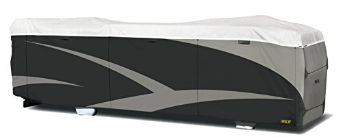 """ADCO 34826 Designer Series Gray/White 34' 1"""" - 37' DuPont Tyvek Class A Motorhome Cover"""