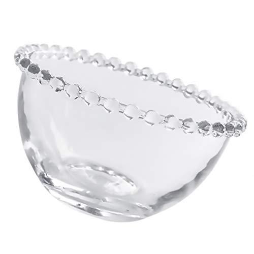 Yardwe Ensaladera de cristal tazón de mezcla tazón de fruta postre helado tazón de sopa tazón de cereales para cocina