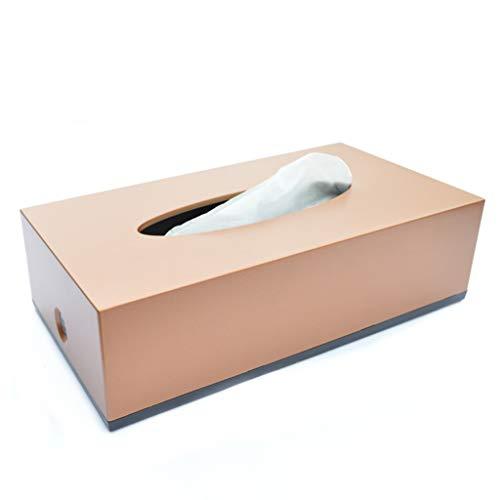 Toiletpapierhouder voor thuis van kunststof, rechthoekig, eenvoudig, creatief, karton, eenzijdig, 22,5 x 12 x 6,5 cm, duurzame toiletpapierhouder