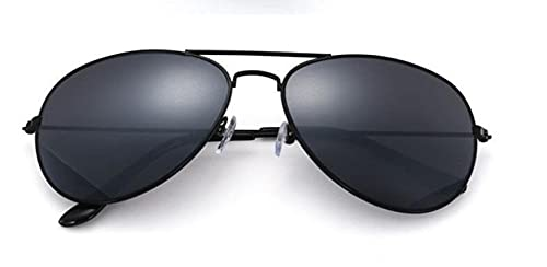 Moda Gafas De Sol De Piloto para Mujer, Hombre, Diseñador De Marca Superior, Gafas De Sol De Lujo para Mujer, Retro, Conducción Al Aire Libre, Uv400, Gris