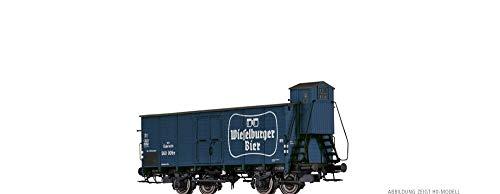 """BRAWA 67461 Gedeckter Güterwagen """"Wieselburger"""" der BBÖ"""