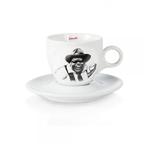 Lucaffe Cappuccinotasse - Mr. Exclusive - weiß