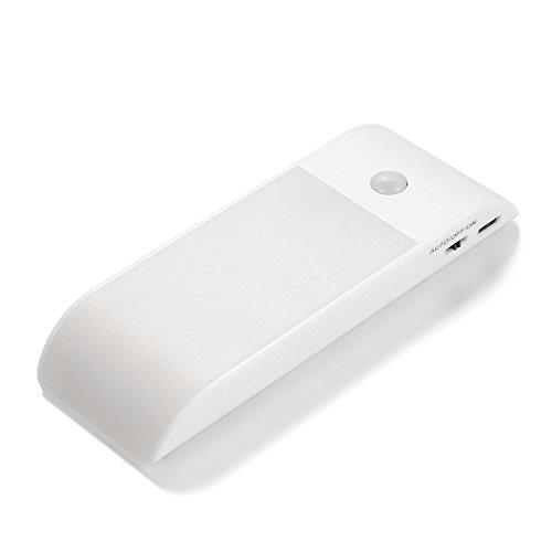 cooshional Luce Notturna sensore di Movimento Voltaggio Output: 3,7 V Tensione di Lavoro: DC 3-4.2V Luce LED Ricaricabile
