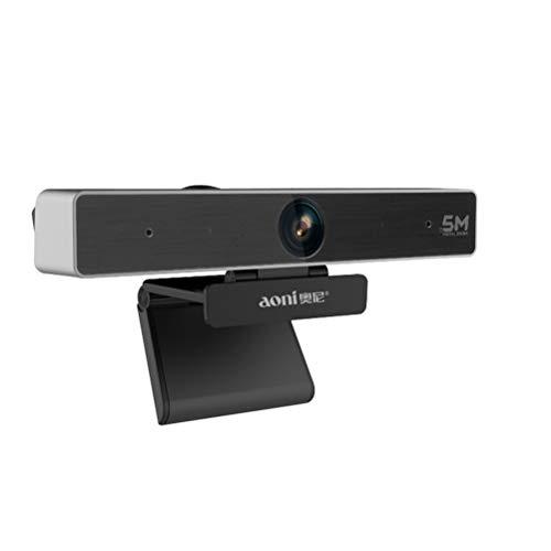Hcyai Webcam volle 1080P Autofokus 5M HD Videokonferenz-Kamera Meeting 4X Digital Zoom Web-Kamera Teaching Ausbildung Web Cam