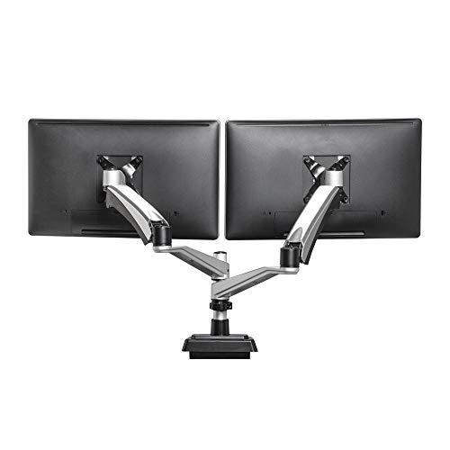 VARIDESK Full-Motion Spring Dual Monitor Arm