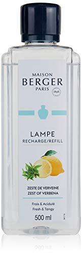 Lampe Berger 115056, Fragranza freschezza rinvigorente, verbena al limone, 500 ml