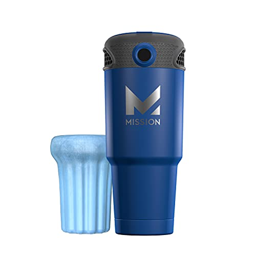 Mission Instant Cooling FanPersonal Air Cooler, Portable, Use Indoor/Outdoor, Includes- Unit, 1 ReusableIce Pack