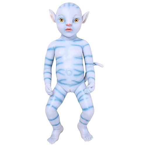 YXX 20 Pulgadas Realista Renacer Muñecos Bebé De Niño Pequeño Hecho A Mano Recién Nacido Toddler Regalos De Cumpleanos