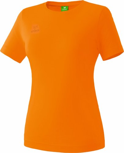 erima Damen Teamsport T-Shirt, orange, 40