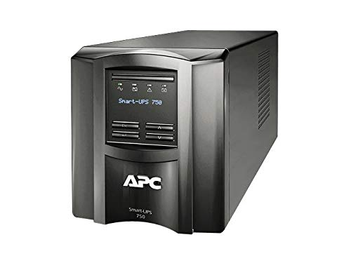 APC Smart-UPS 750VA UPS Battery Backup with Pure Sine Wave Output...