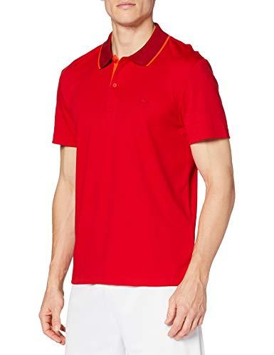 Lacoste Dh1886 Camisa de Polo, Rouge/ALIZARINE-GLAIEUL, XL para Hombre